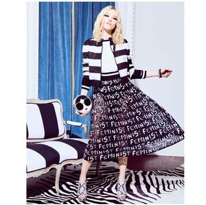 "98de43f4b2947 Alice + Olivia Skirts - Alice + Olivia ""Levon"" sequin Feminist Skirt 0"
